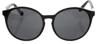 Linda Farrow The Row x Round Tinted Sunglasses