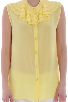 Moschino Voile Blouse