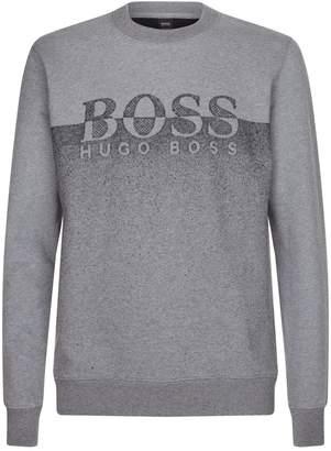 BOSS ORANGE Contrast Logo Sweater