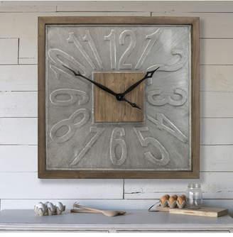 3.1 Phillip Lim Vip Home & Garden Square Wood Clock