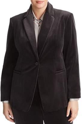 Marina Rinaldi Carnet Velvet Blazer