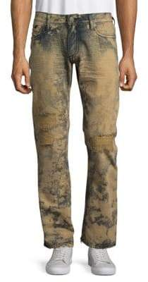 Printed Cotton Jeans