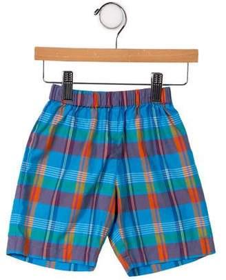 Oscar de la Renta Boys' Plai Knee- Length Shorts