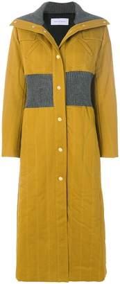 Walk Of Shame padded long coat