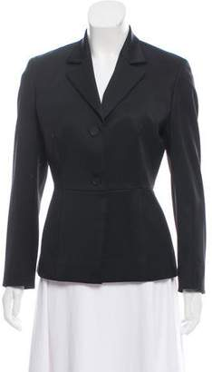 Gucci Wool Structured Blazer