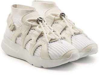 Alexander McQueen Sneakers with Leather