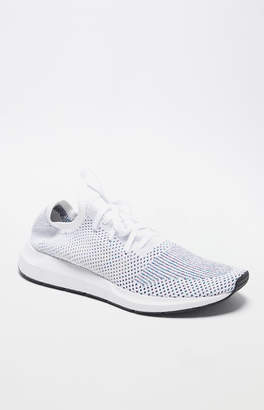 2823f6c0d at PacSun · adidas Swift Run Primeknit White Multi Shoes