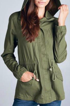 Staccato Hooded Cargo $54 thestylecure.com