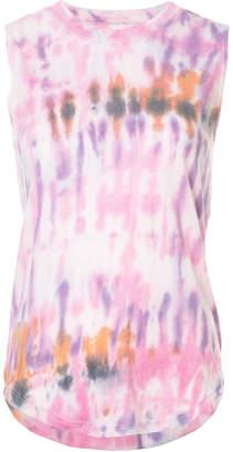 Raquel Allegra tie-dye print tank top