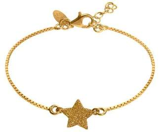 Very Sisters BRM60YY Star Chain Bracelet-Children's Gold-Plated Earrings 15 g Gold 14 cm