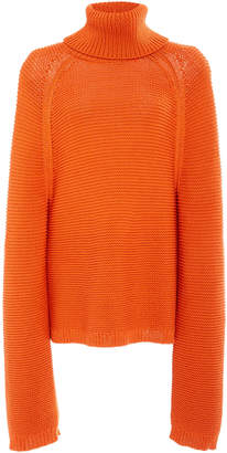 Joseph Chunky Cable Knit Wool-Blend Sweater