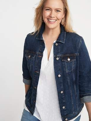 8665229d317 Old Navy Classic Denim Plus-Size Jacket