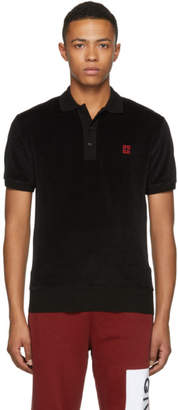 Givenchy Black Velvet 4G Polo