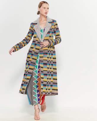 Missoni Color Block Coat