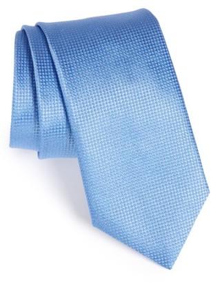 Men's Canali Solid Silk Tie $160 thestylecure.com