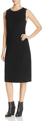 Eileen Fisher Sleeveless Crewneck Dress $188 thestylecure.com