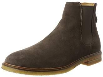 Clarks Men's Clarkdale Gobi Chelsea Boots, (Dark Suede)