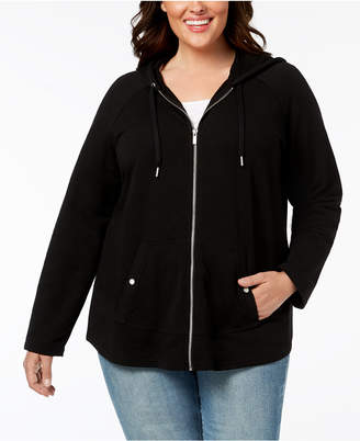 Style&Co. Style & Co Plus Size Hooded Jacket, Created for Macy's
