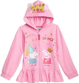 Peppa Pig Toddler Girls Peplum Hoodie