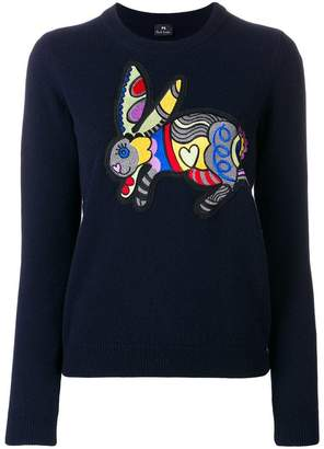 Paul Smith rabbit patch jumper