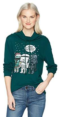 Star Wars Junior's Women's Cowl Neck Sweater