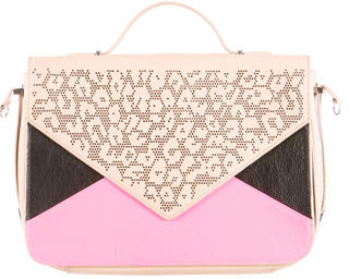 Rebecca Minkoff Perforated Envelope Satchel $155 thestylecure.com