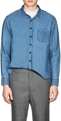 Simon Miller Men's Pioche Linen Chambray Shirt
