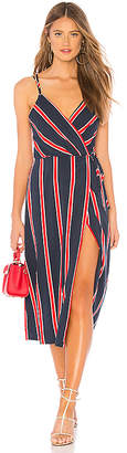 MinkPink Nautica Midi Dress
