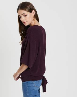 DKNY Cropped Sweatshirt