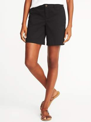 "Old Navy Mid-Rise Everyday Shorts for Women (7"")"