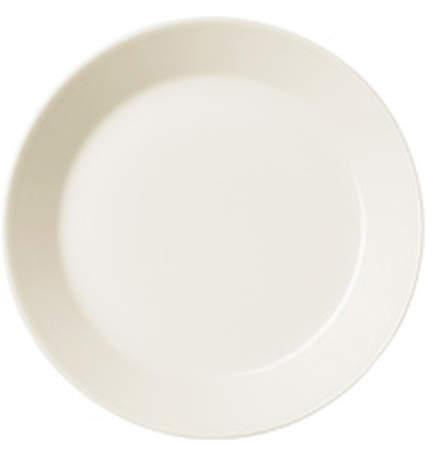 Teema Teller flach Ø 17cm, Weiß