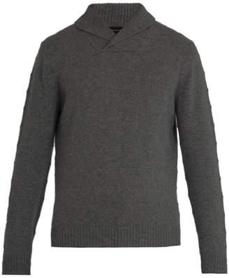 Ermenegildo Zegna Shawl-collar cashmere sweater