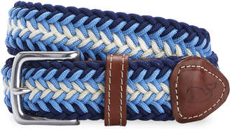 Vineyard Vines Striped Bungee Cord Belt