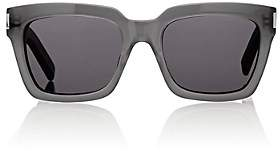 Saint Laurent Men's Square Sunglasses - Gray