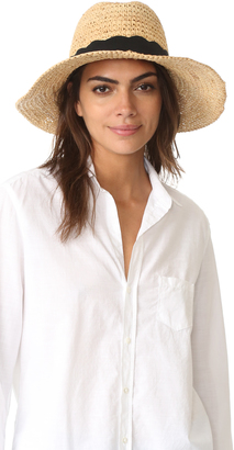 Hat Attack Chunky Crochet Continental Hat $95 thestylecure.com