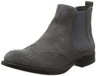 ... S Oliver Women 5-5-25449-37 Chelsea Boots Grey Size  d2168f9dc3