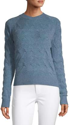 Theory Textured Cashmere Sweater