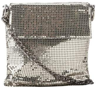 Whiting & Davis Mesh Fringe Crossbody 1-4121PW Crossbody