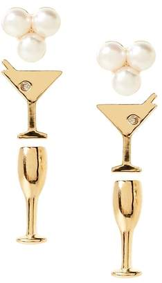 Banana Republic Drink Party Stud Earring Pack