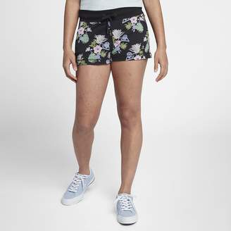 Converse Essentials Lightweight Palm Print Women's Shorts