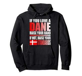 Danish Flag Hoodie Shirt Funny Denmark Hoodie Danish Colors