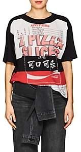 Marc Jacobs Women's Takeout-Print Cotton Jersey T-Shirt - Black