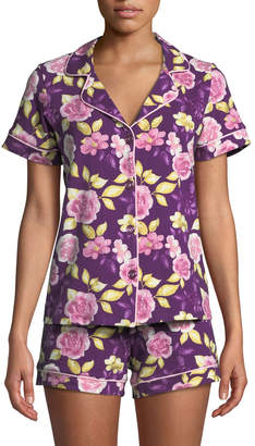 BedHead Garden of Romance Knit Shortie Pajama Set