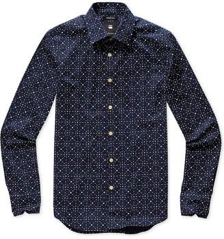 G Star Men's Geometric Shirt, Created for Macy's