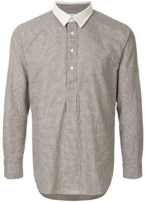 Kent & Curwen checked shirt
