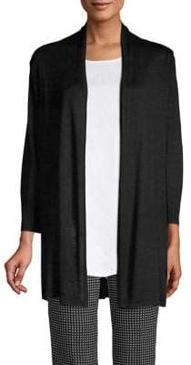 Joan Vass Long Knit Cardigan