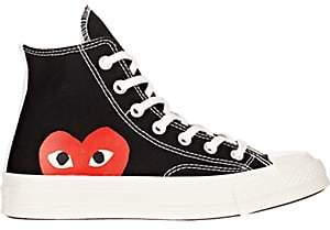 Comme des Garcons Women's Chuck Taylor 1970s High-Top Sneakers-Black