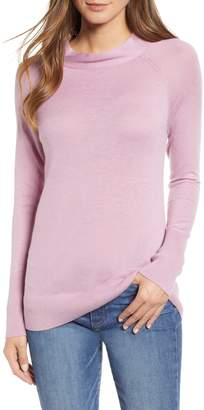 Halogen Mock Neck Sweater