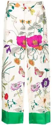 Gucci floral palazzo pants