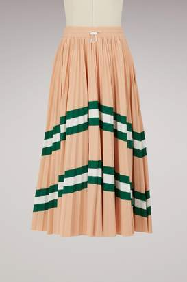 Valentino Pleated long skirt